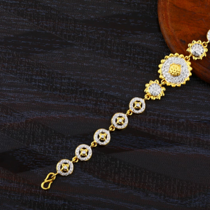 916 gold ladies fancy bracelet lb419