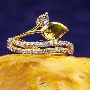 916 gold cz ladies ring lr-0027