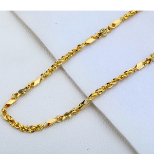 22ct gold exclusive mens choco chain mch185