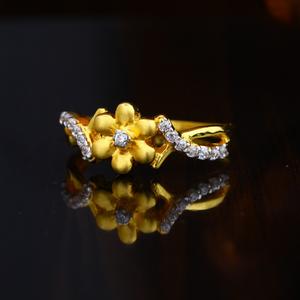 916 gold hallmark circean design ring