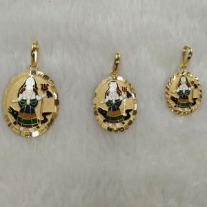 Khodiyar ma minakari pendants
