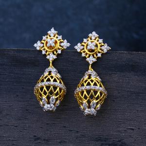 Ladies 22k jummar earring-lje09