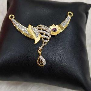 916 cz mangalsutra pendant
