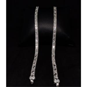 Silver antiq ladies payal rh-la888