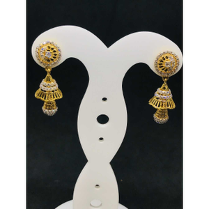 916 ladies fancy gold earring er-60018