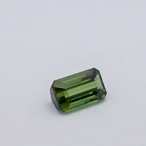 4.850ct square green tourmaline