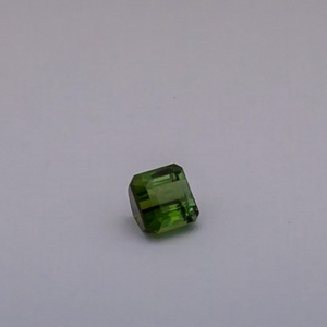 3.255ct square green tourmaline