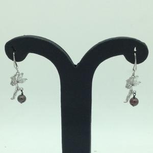 Pearl cz silverear hangingsjer0120