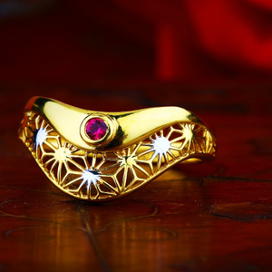 916 gold designer ring for women tj-r04