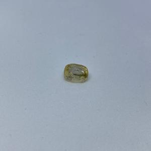 3.21ct cushion yellow yellow-sapphire-pukhraj