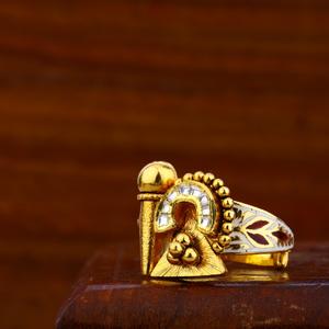 916 gold exclusive antique ring lar27