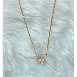 18ct gold ladies chain