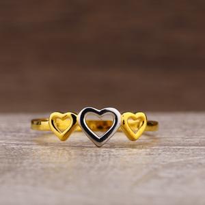 916 gold exclusive plain ring lpr244