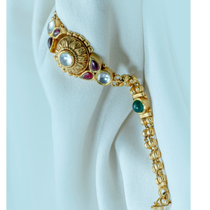 22kt gold trendy women bracelet lb-578