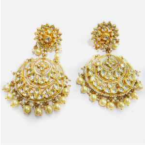 916 gold designer bridal earring rhj-4463