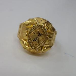 22 kt 916 gold ring