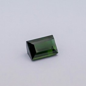 6.250ct square green tourmaline
