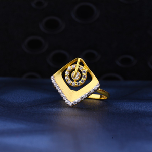 Ladies ring 916 cz