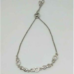 92.5 sterling silver adjustable ladies bracel