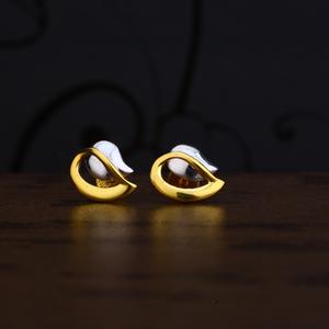 Ladies 916 gold earring -lpe230