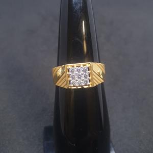 Gents ring diamond grg-0119