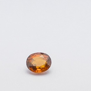 1.97ct baguette brown hessonite-gomed