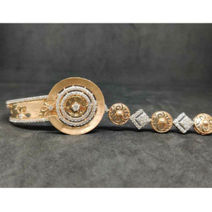 18k exclusive rose gold kada no-28008