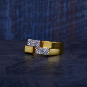 Mens 22k gold ring-mr292