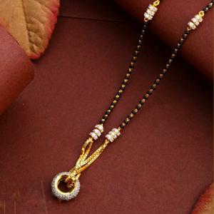 22kt/ 916 gold fancy casual wear mangalsutra