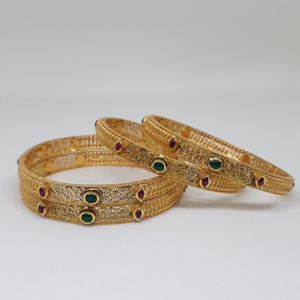 22ct antique  jadtar  bangle bg/64/160