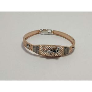92.5 sterling silver rose gold premium bracel