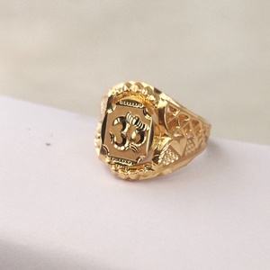 916 gold gents ring