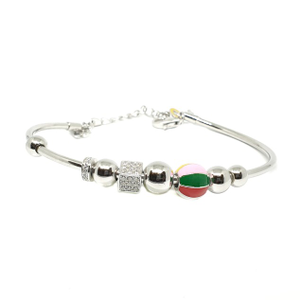 925 sterling silver meenakari pandora bracele