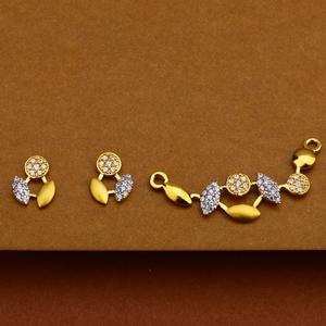 916 gold stylish pendant mp153