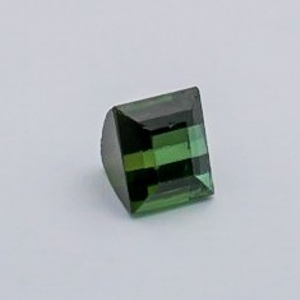 4.765ct square green tourmaline