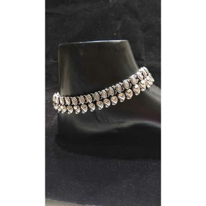 92.5 sterling silver jaypuri anklet(payal) ms