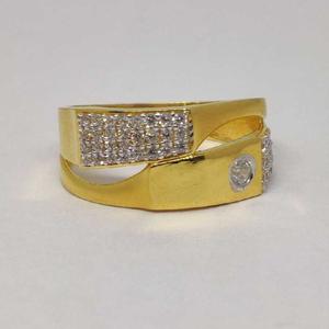 22k gents fancy gold ring gr-28580