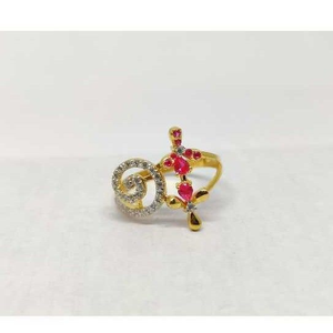 916 ladies fancy gold ring lr-17079