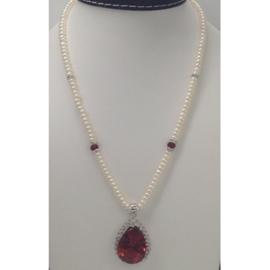 White and browncz pendentset with flatp