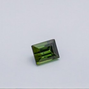 4.225ct square green tourmaline