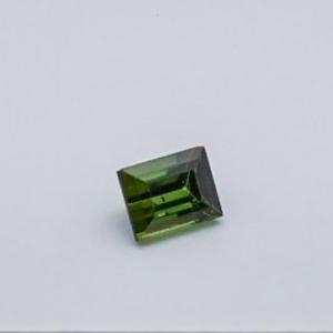 4.225ct square green tourmaline