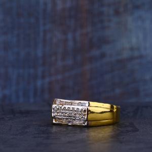 Mens 22k gold ring-mr317