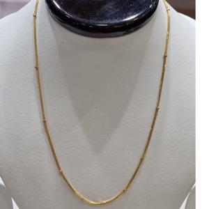 22kt gold stylish chain