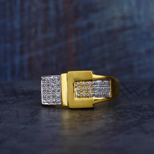 Mens gold ring-mr136