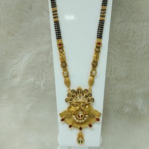 916 antique mangalsutra ams465