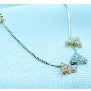 22kt gold modern pendant chain dk1-235