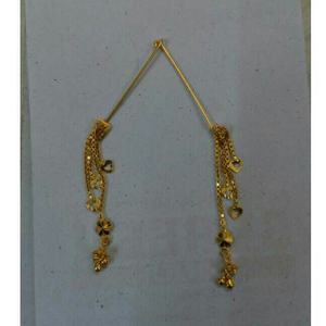 18kt gold modern ladies latkan