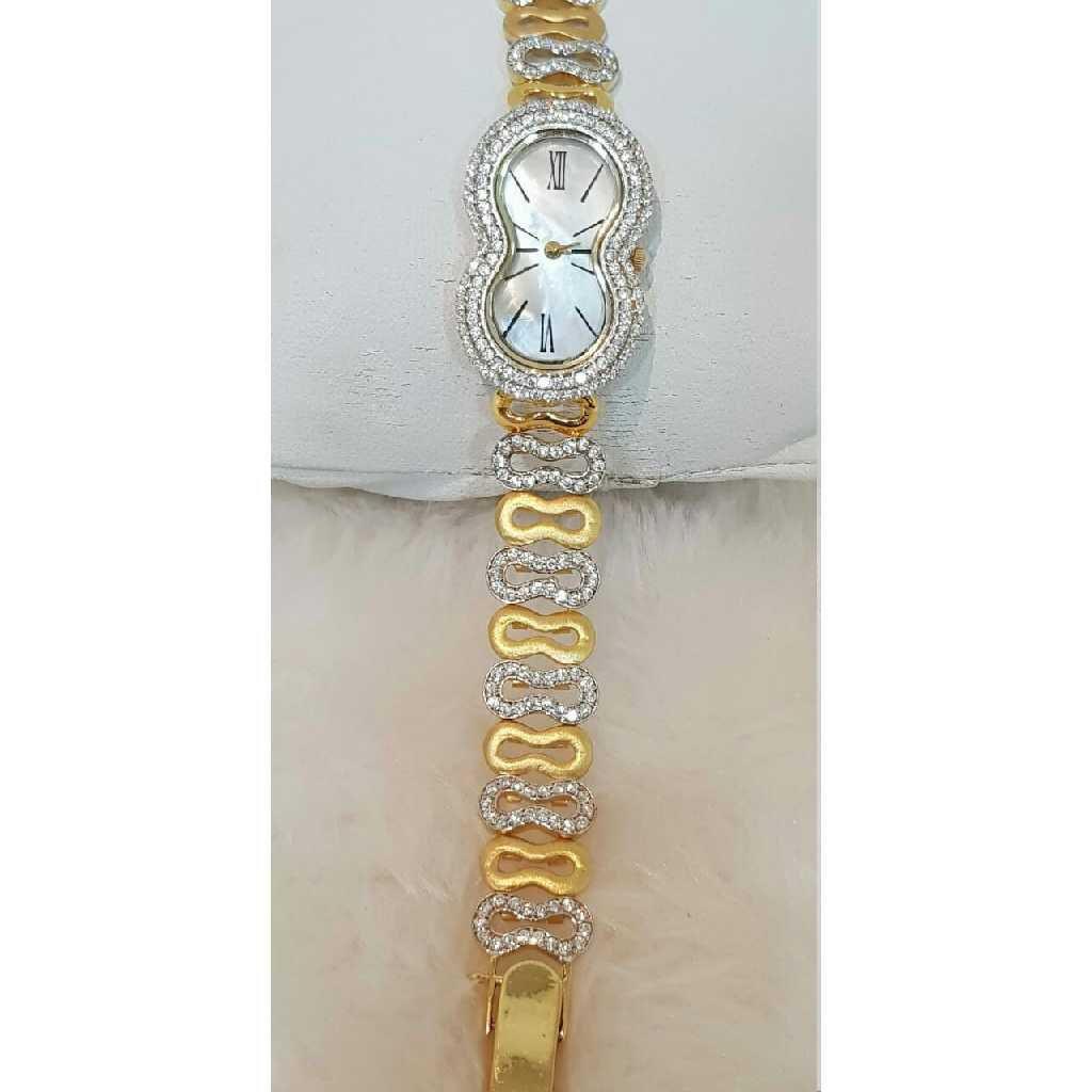 18k Ladies Fancy Italian Watch G-2920