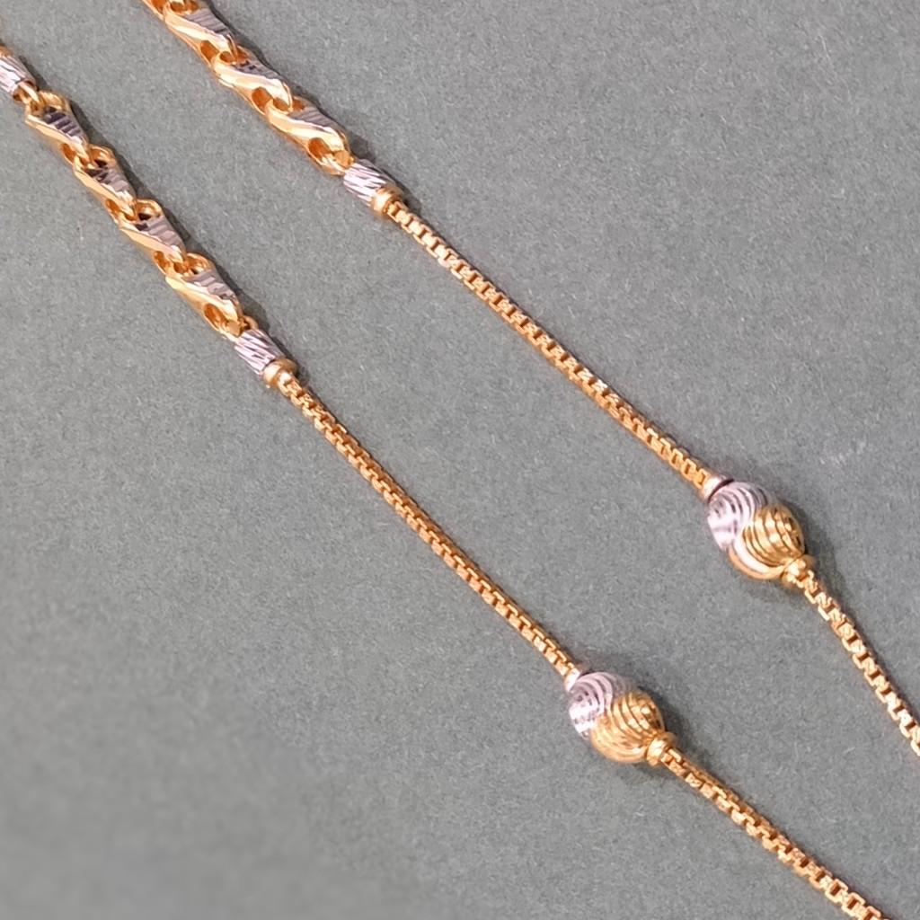 22k 916 gold light weight chain