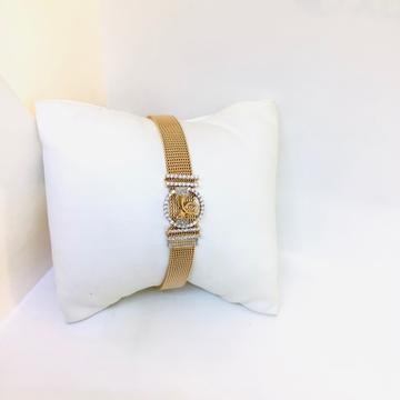 DESIGNING FANCY ROSE GOLD BRACELET by